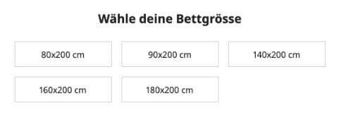 IKEA-Matratzen Empfehlung - Wähle Deine Betten Grösse