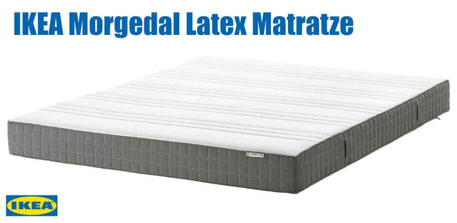 IKEA Morgedal Latex Matratze Test
