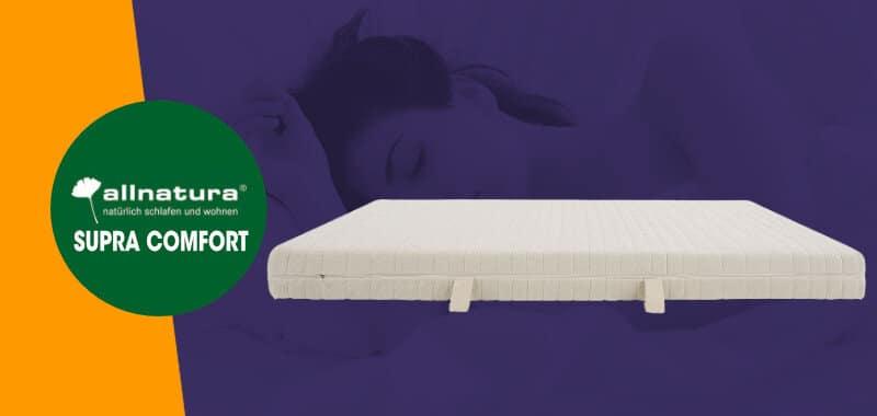 Allnatura Supra Comfort Matratze