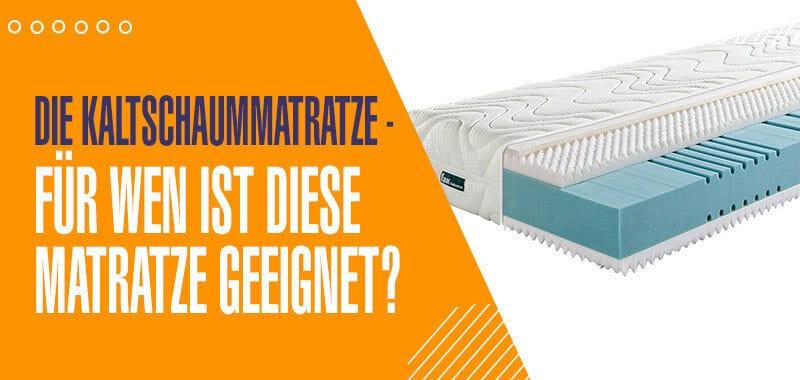 kaltschaummatratze-test